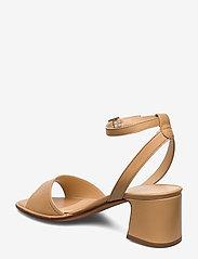 NOTABENE - Naima - høyhælte sandaler - nude leather - 2