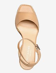 NOTABENE - Naima - høyhælte sandaler - nude leather - 3