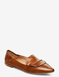 Romy - loafers - brown leather