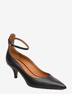 Sonia - klassiske pumps - black leather