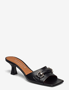 Enid - korolliset sandaalit - black leather