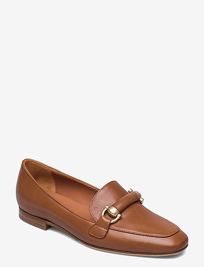 Libby - instappers - brown leather