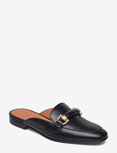 Linda - sko - black leather