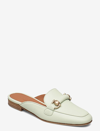 Linda - schoenen - green leather