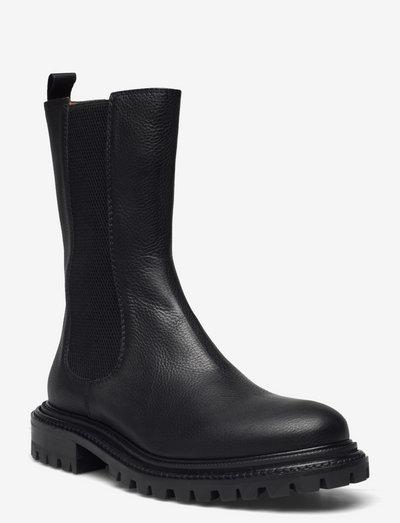 Frigg - sko - black leather