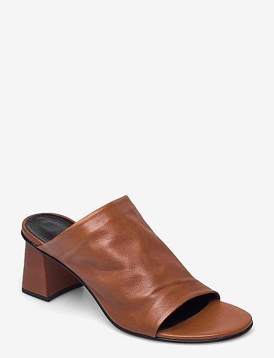 Alessandra - sko - brown leather