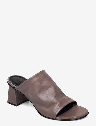 Alessandra - sko - grey leather