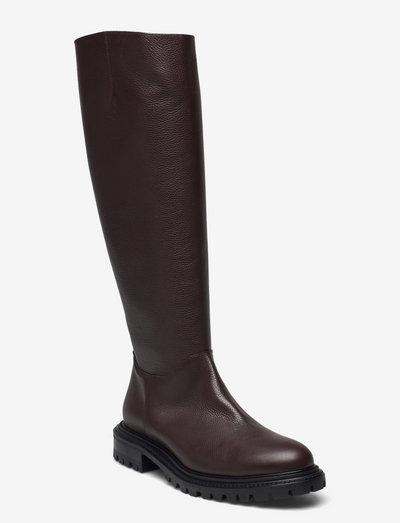 Frej - langskaftede - brown leather