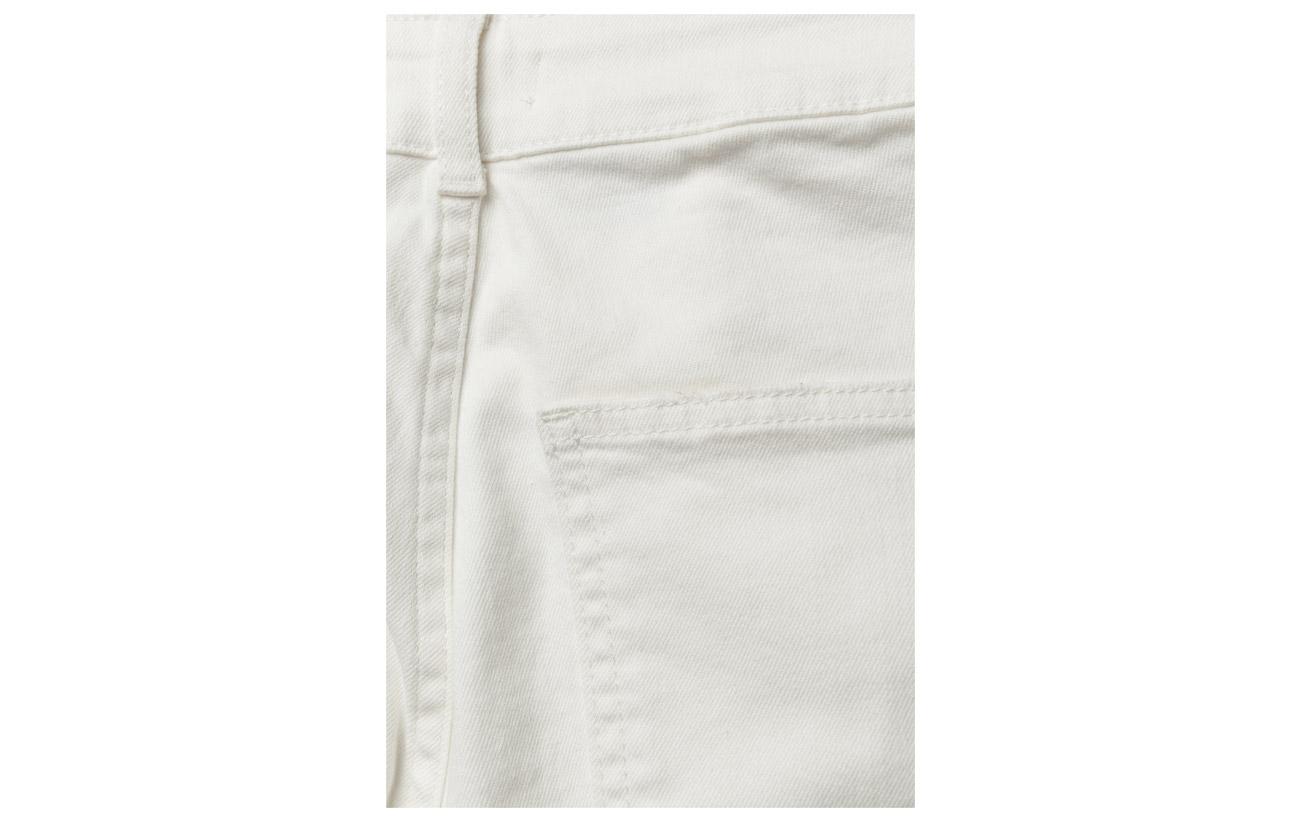 2 Coton Du 98 Cropped Notes Ivory Nord Elastane Iman Jeans 8xU0076n