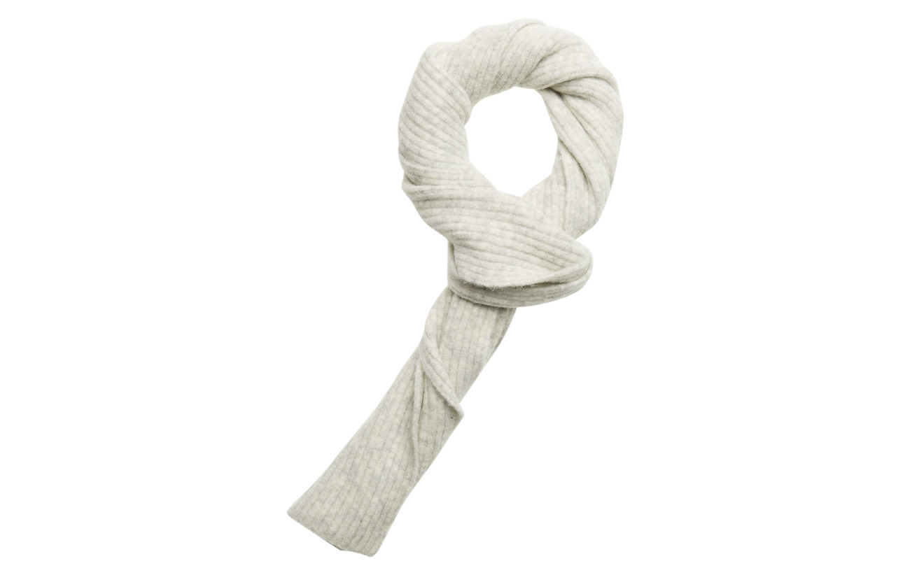 Notes du Nord Iris Scarf - LIGHT GREY MELANGE