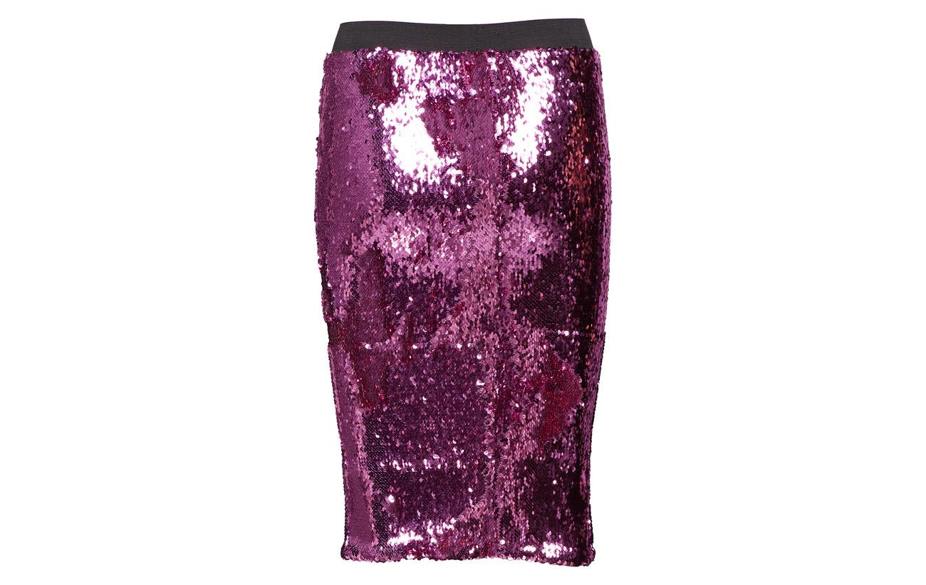 Sequins Lavender Du 100 Janet Nord Notes Polyester Skirt tvaqTtn