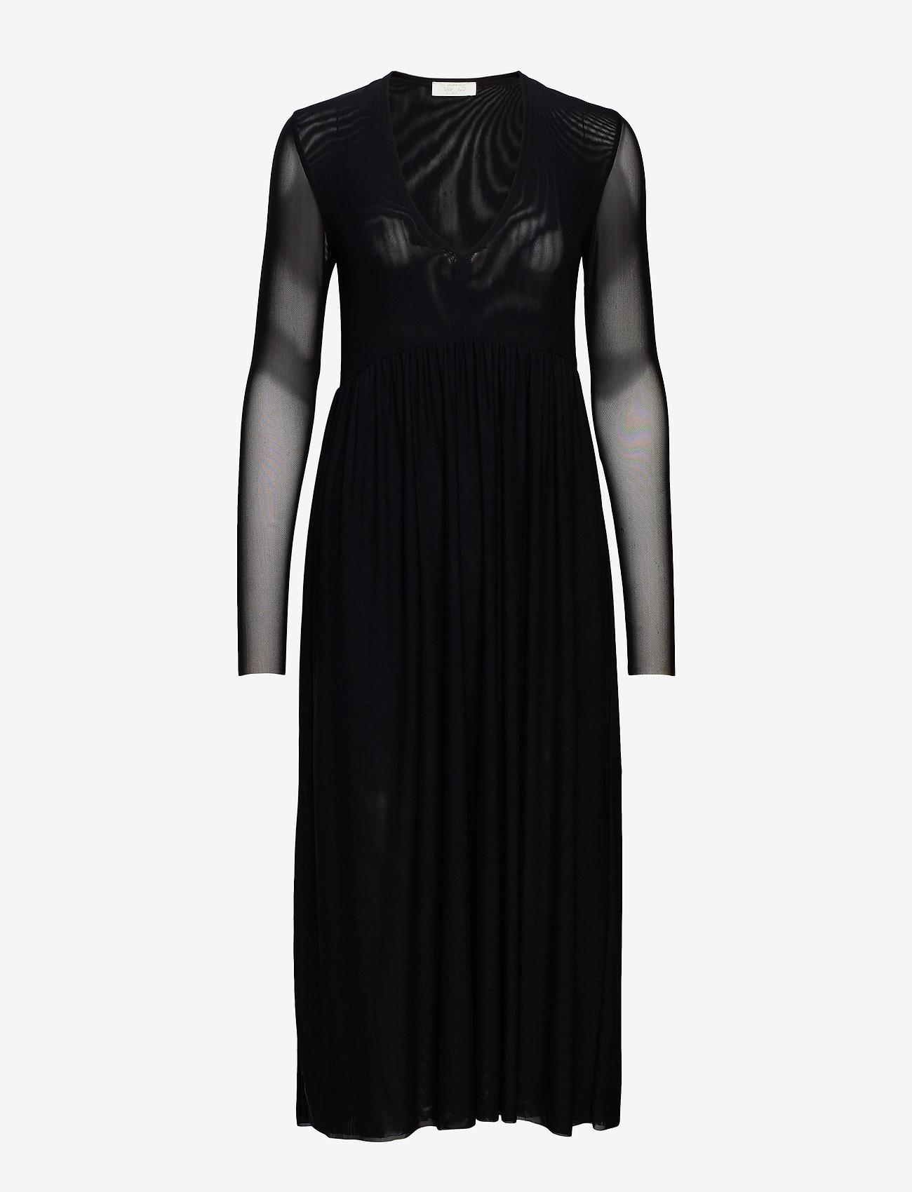 Notes du Nord - Haylie Long Dress - midiklänningar - noir - 0