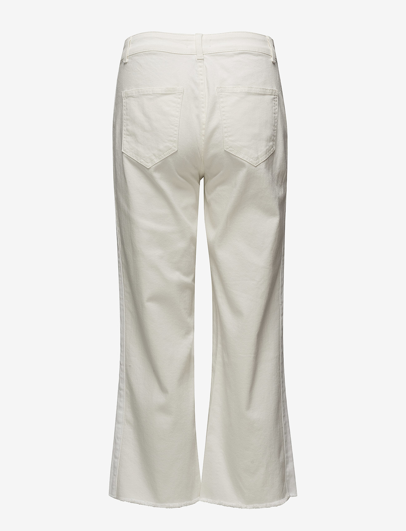Notes du Nord - Iman Cropped Jeans - flared jeans - ivory