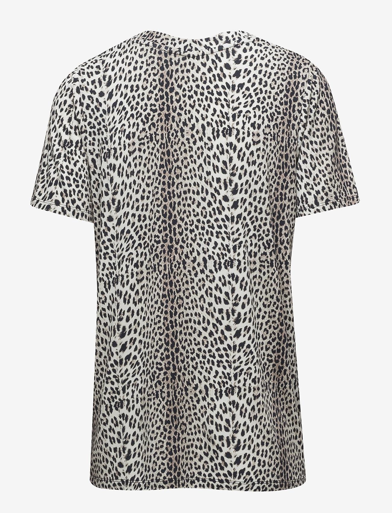 Dallas T shirt Print (Leopard) (714.45 kr) Notes du Nord