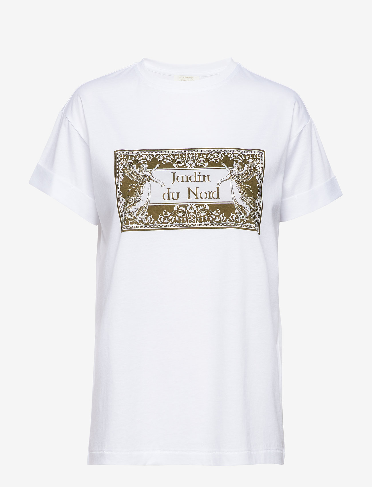 Notes du Nord - Luca T-shirt - logo t-shirts - white