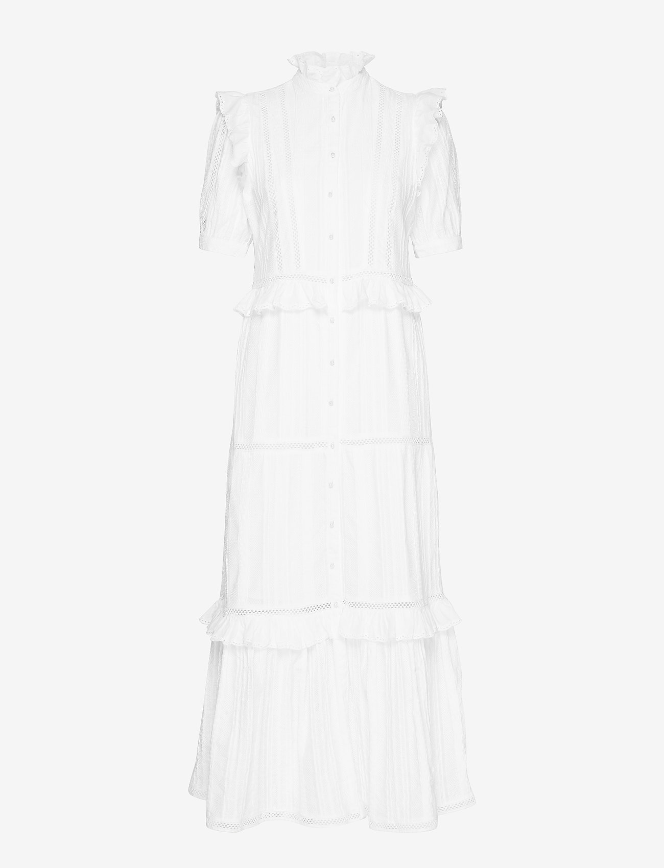 Notes du Nord - Lindsey Dress - brudklänningar - white - 0
