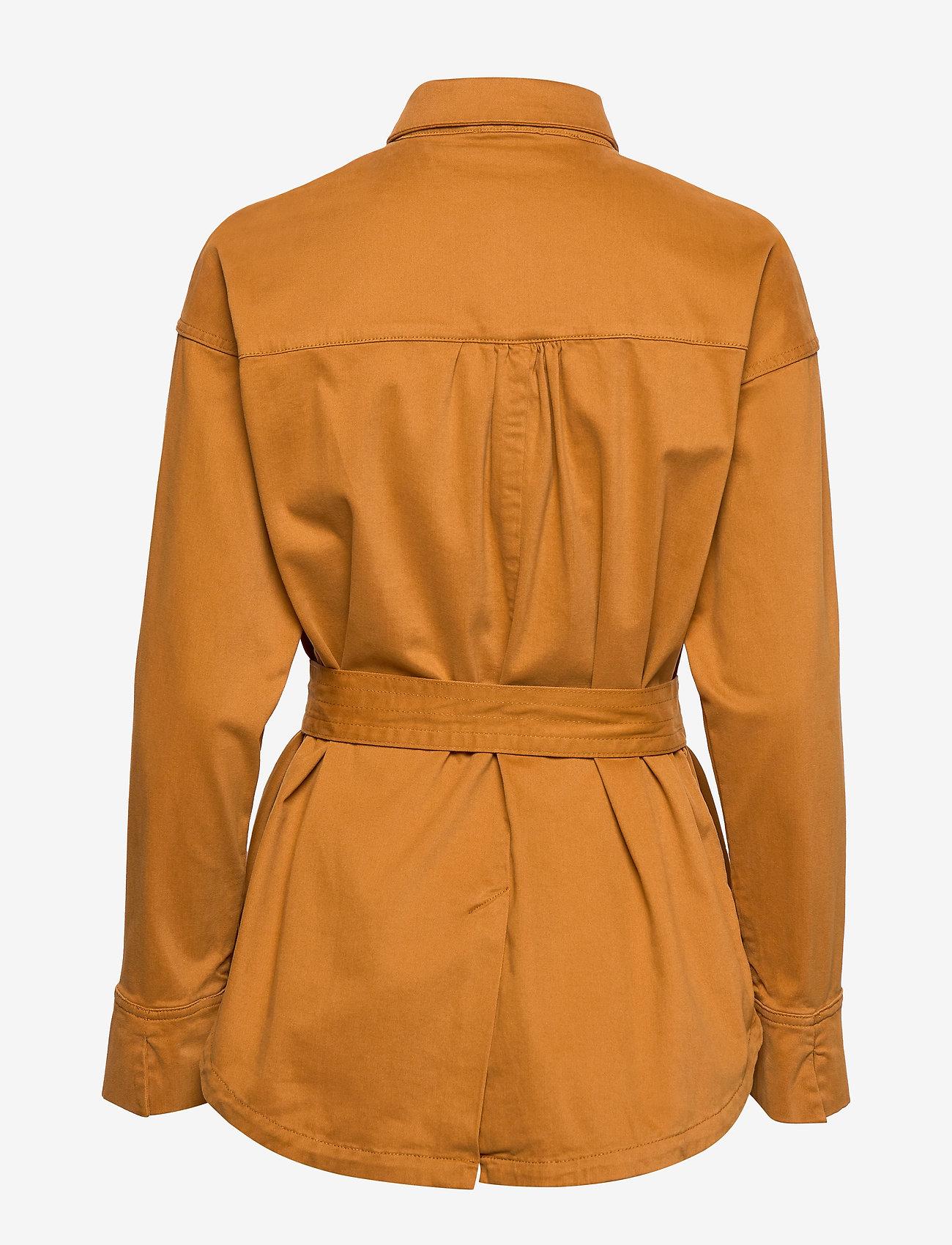 Notes du Nord - Nancy Shirt - overshirts - cognac - 1