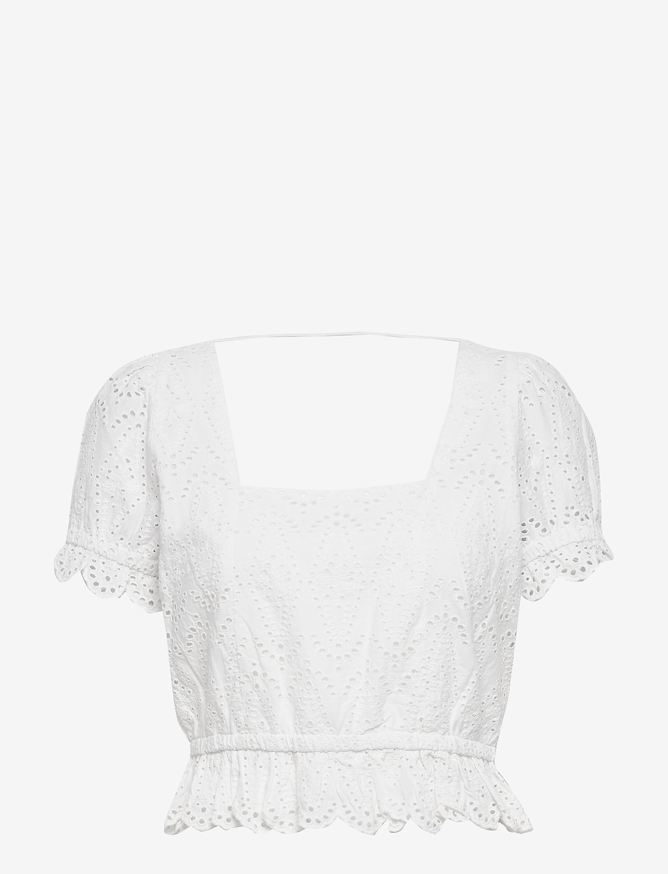Notes du Nord - Omia Top - crop tops - white - 0