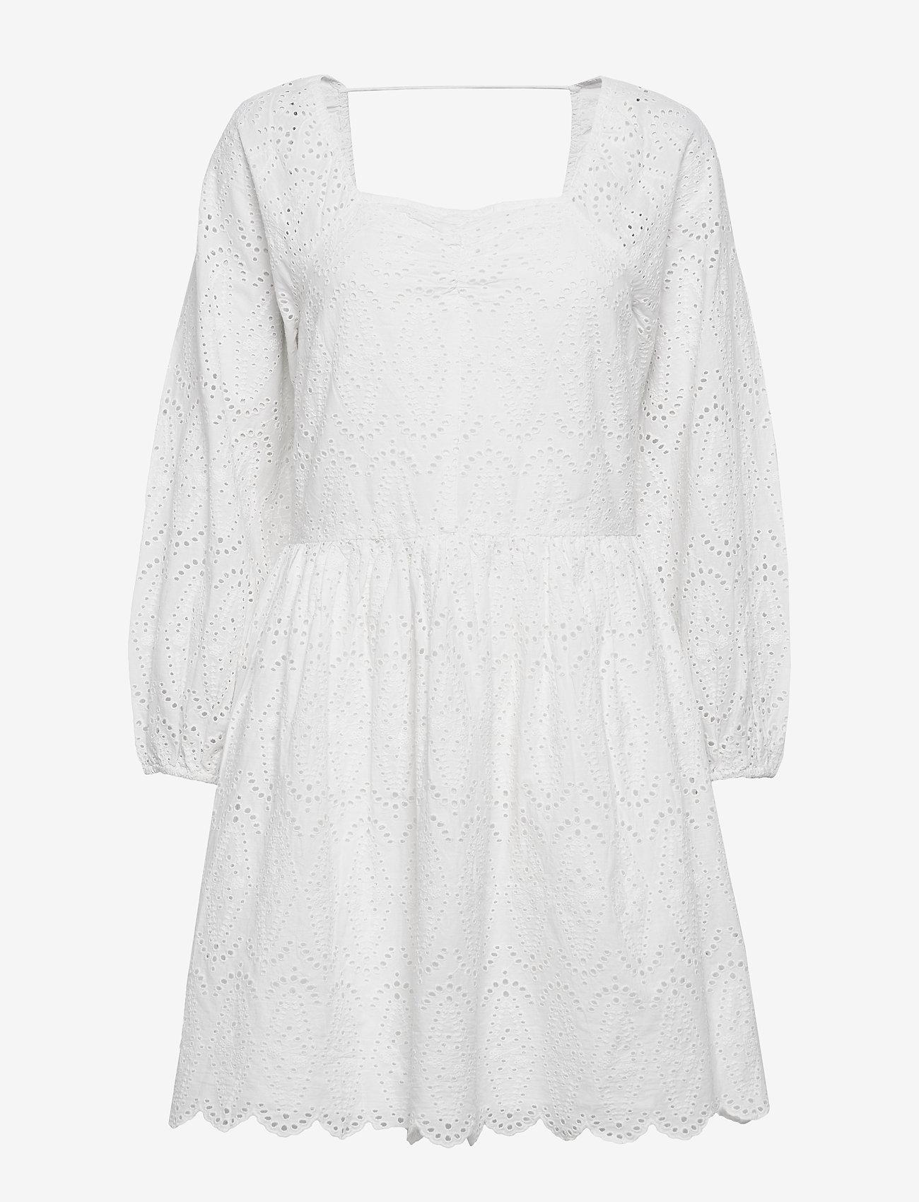 Notes du Nord - Omia Dress - korta klänningar - white - 0