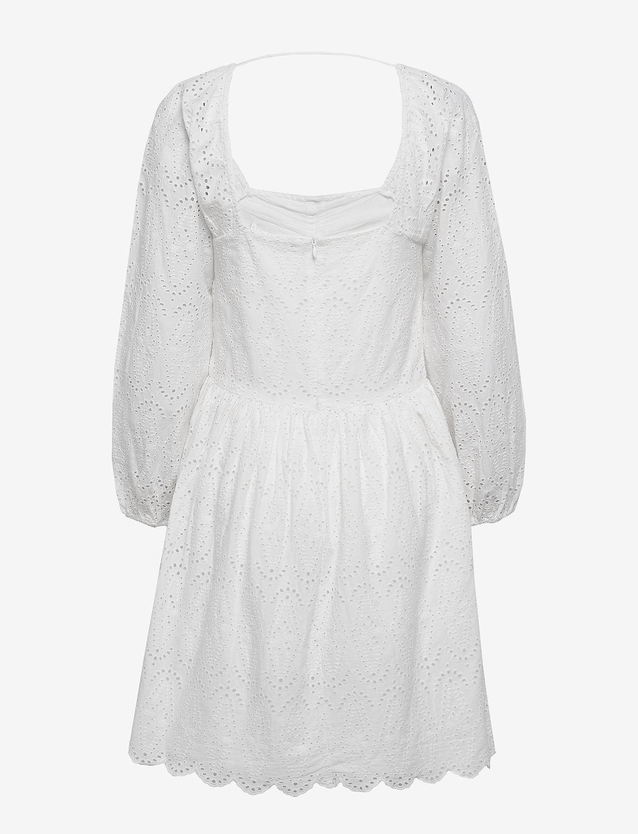 Notes du Nord - Omia Dress - korta klänningar - white - 1