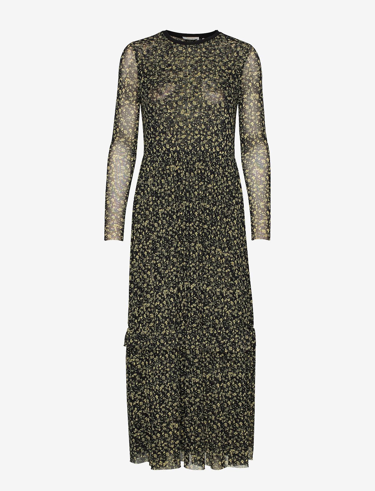 Notes du Nord - Ollie Loose Dress - maxi dresses - lemon flower - 0