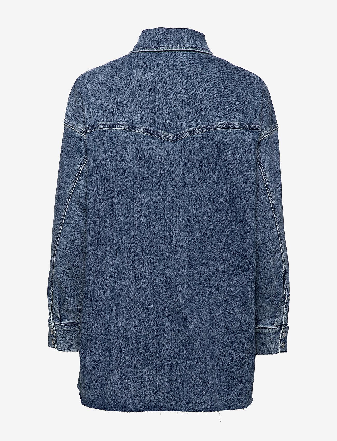 Phoenix Denim Shirt (Blue Wash) - Notes du Nord 3aKFoA
