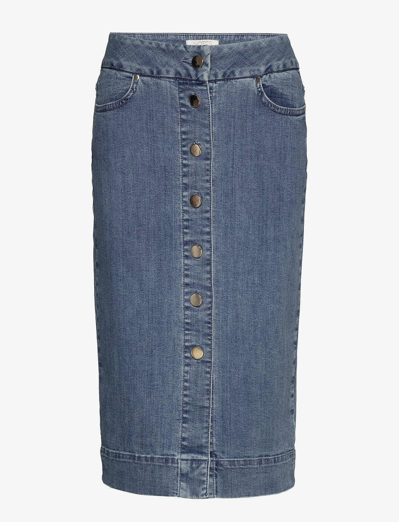 Notes du Nord - Phoenix Denim Skirt - jeanskjolar - blue wash - 0