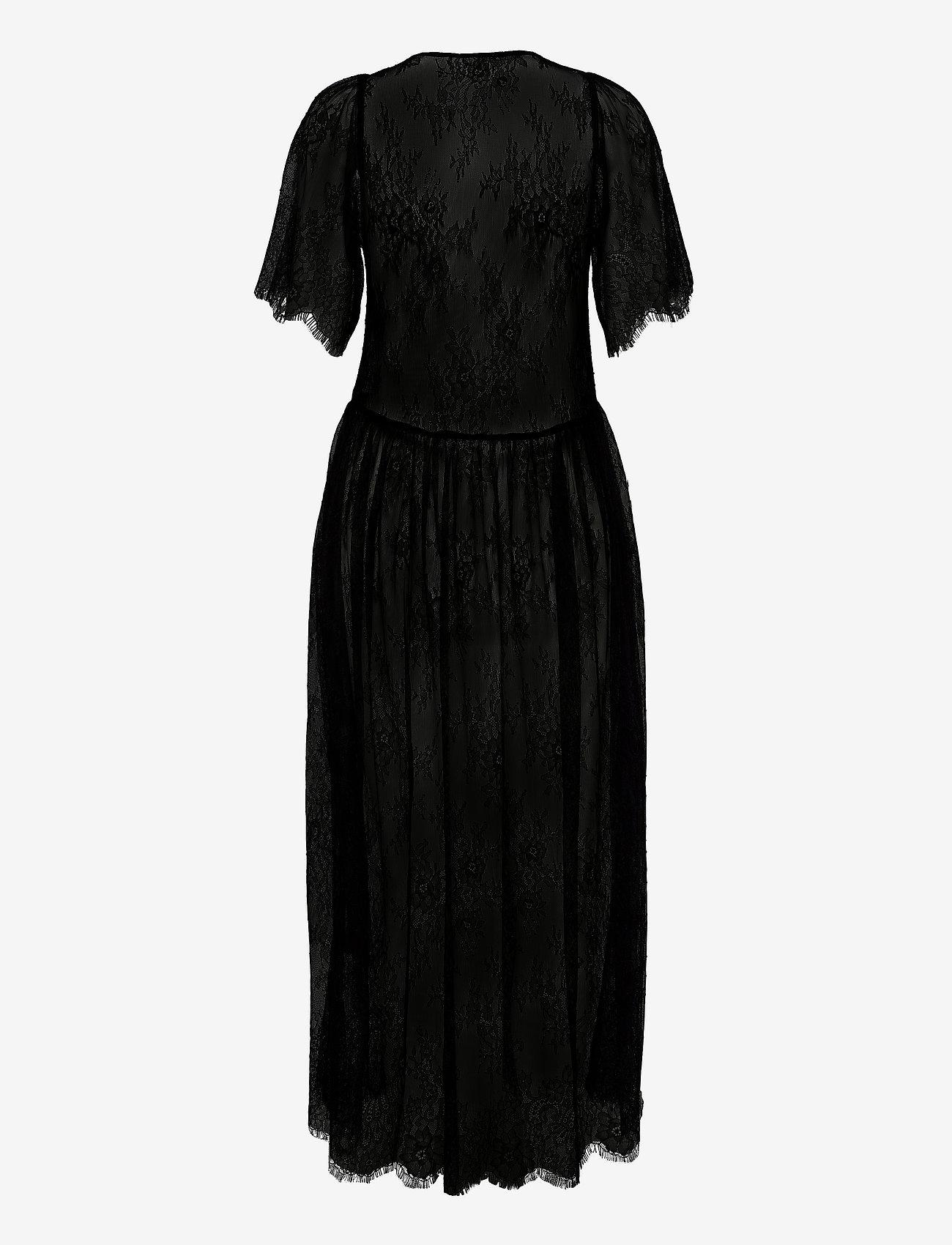 Notes du Nord - Penny Dress - midiklänningar - noir - 1