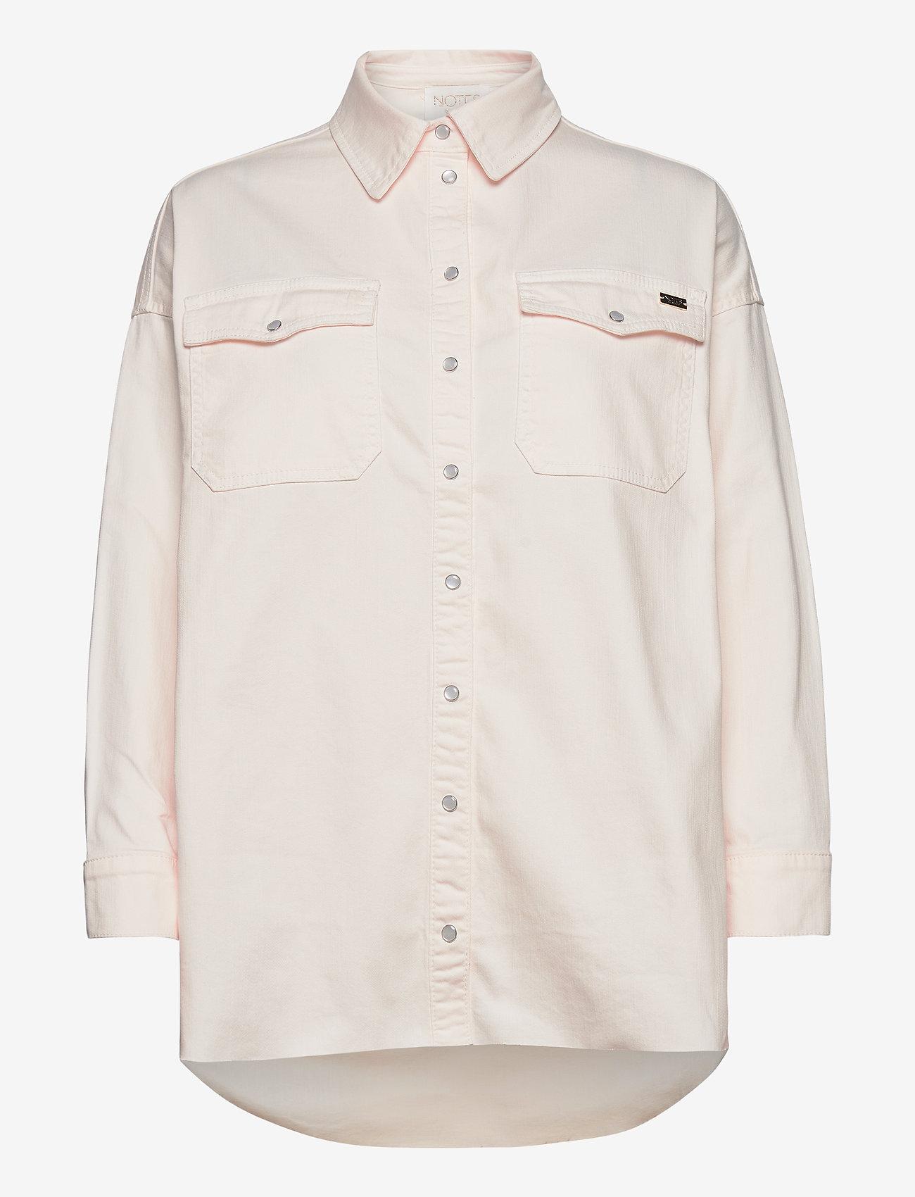 Notes du Nord - Phoenix Denim Shirt Cream - overshirts - cream - 0