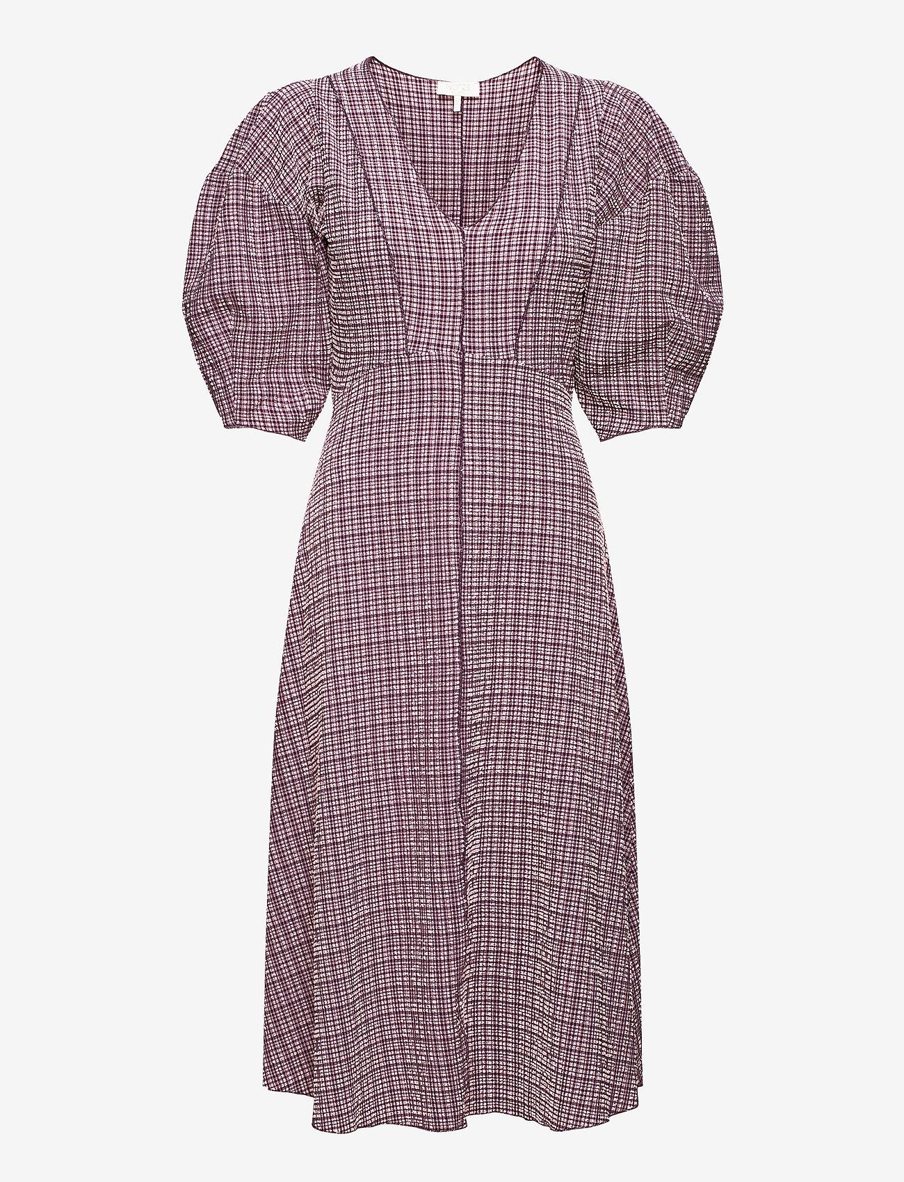 Notes du Nord - Pam Dress - midiklänningar - rose check - 0