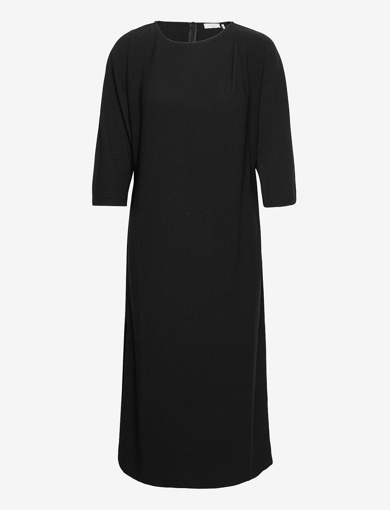 Notes du Nord - Oliana Dress - midiklänningar - noir - 0