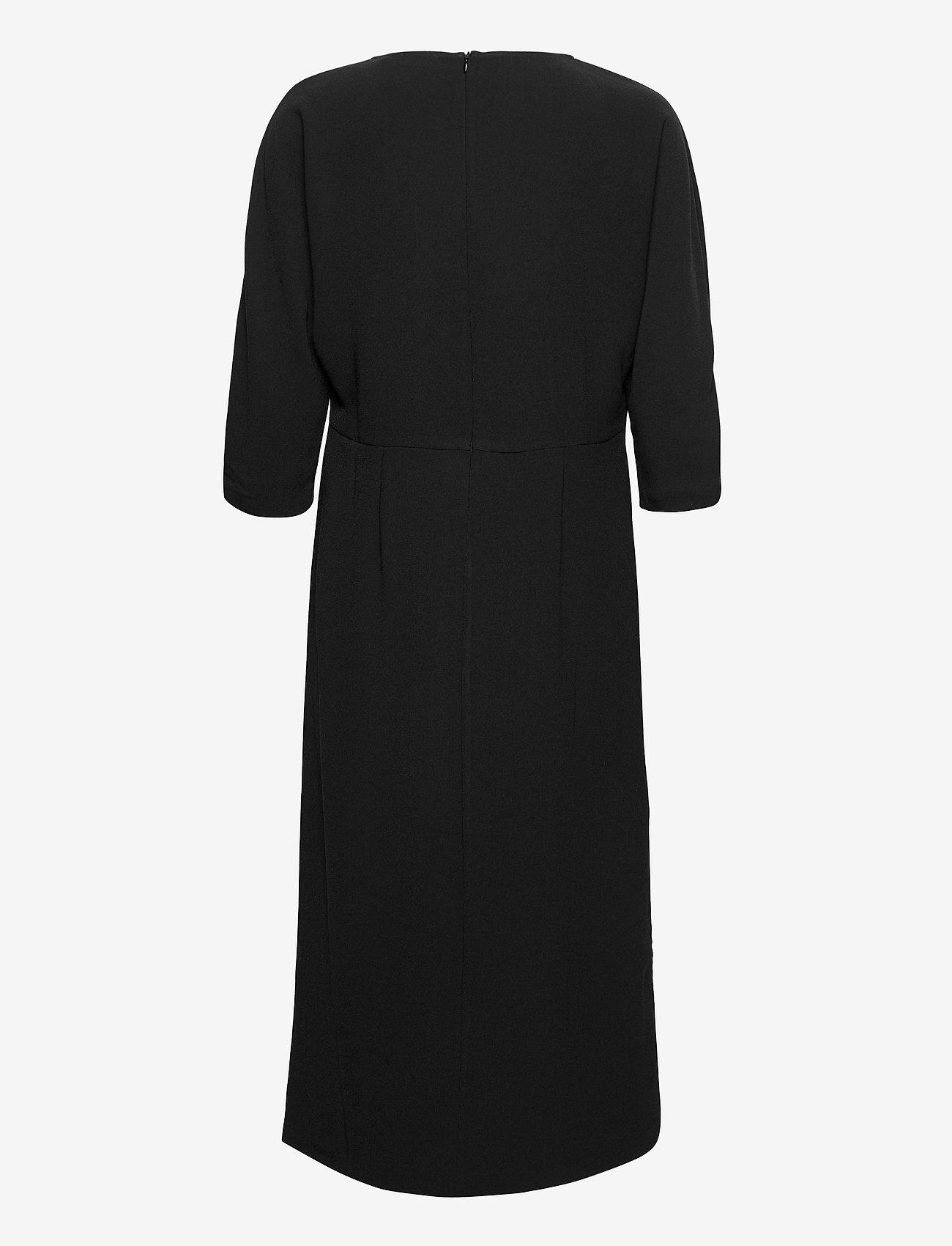 Notes du Nord - Oliana Dress - midiklänningar - noir - 1