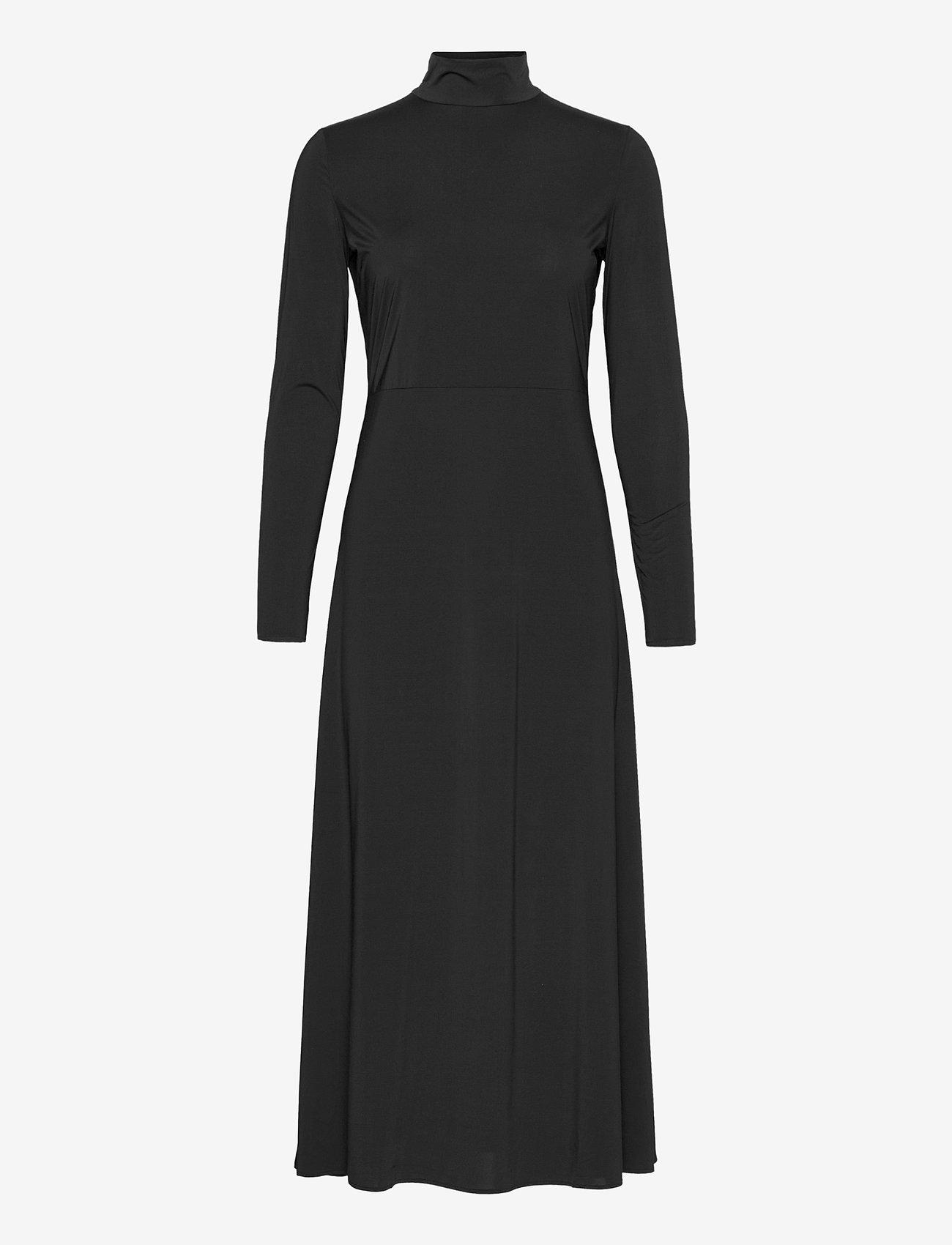 Notes du Nord - Melanie Dress - midiklänningar - noir - 0