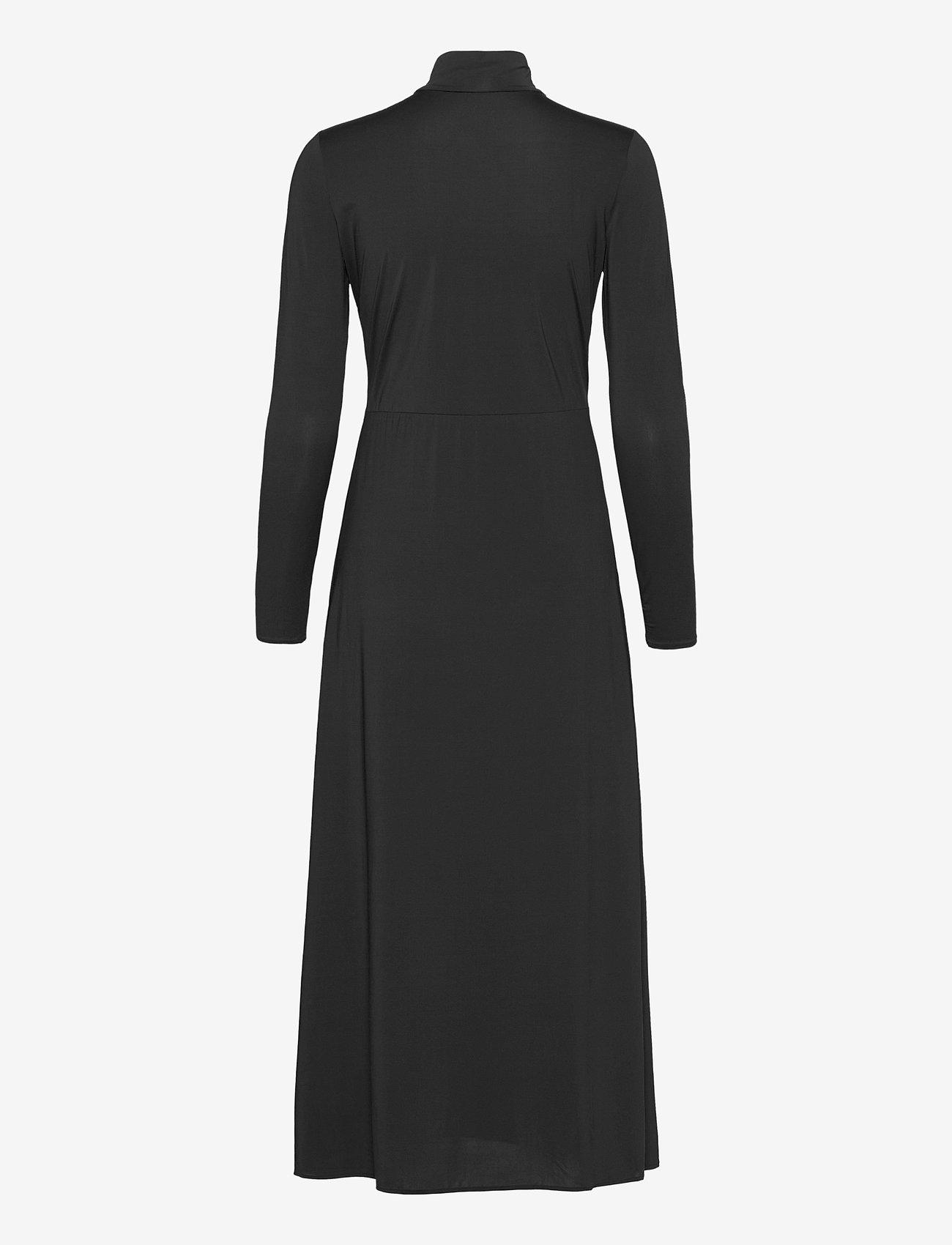 Notes du Nord - Melanie Dress - midiklänningar - noir - 1