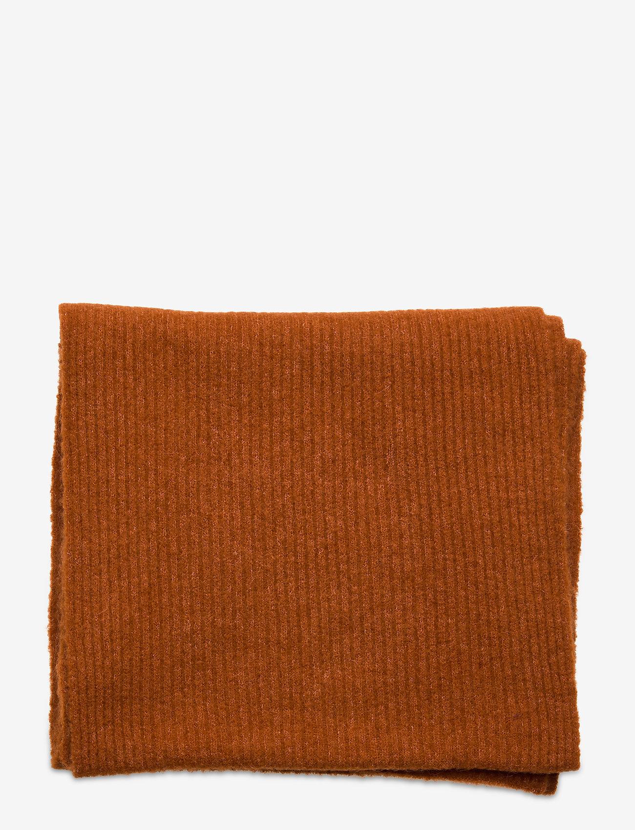 Notes du Nord - Rhonda Scarf - sjalar & halsdukar - burnt orange - 1