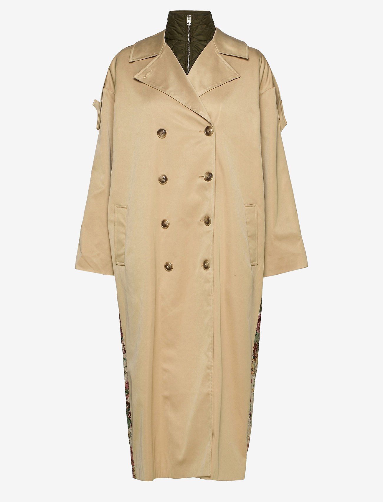 Notes du Nord - Ricci Coat - trenchcoats - nude - 1