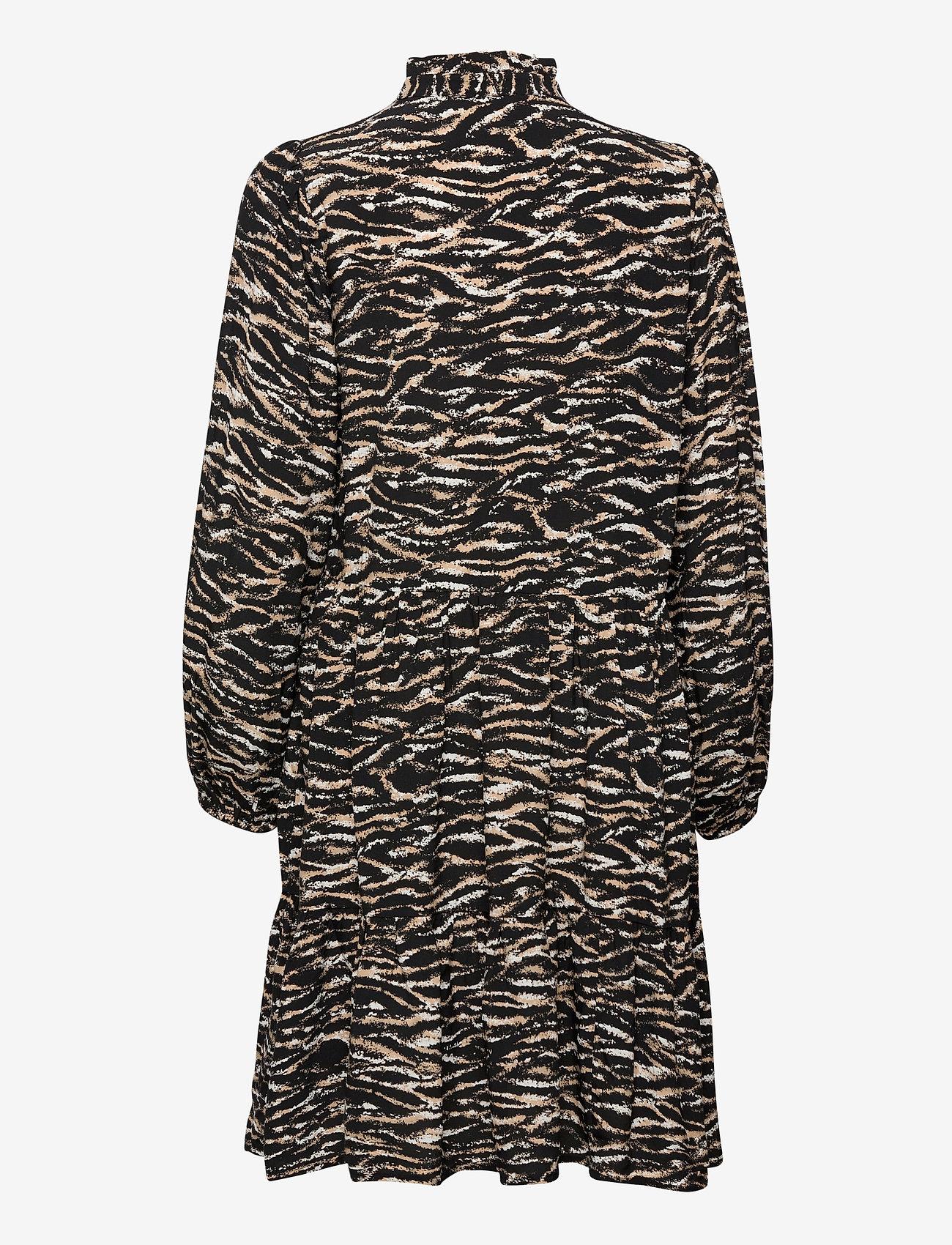 Notes du Nord - Rosie Zebra Short Dress - vardagsklänningar - zebra - 1