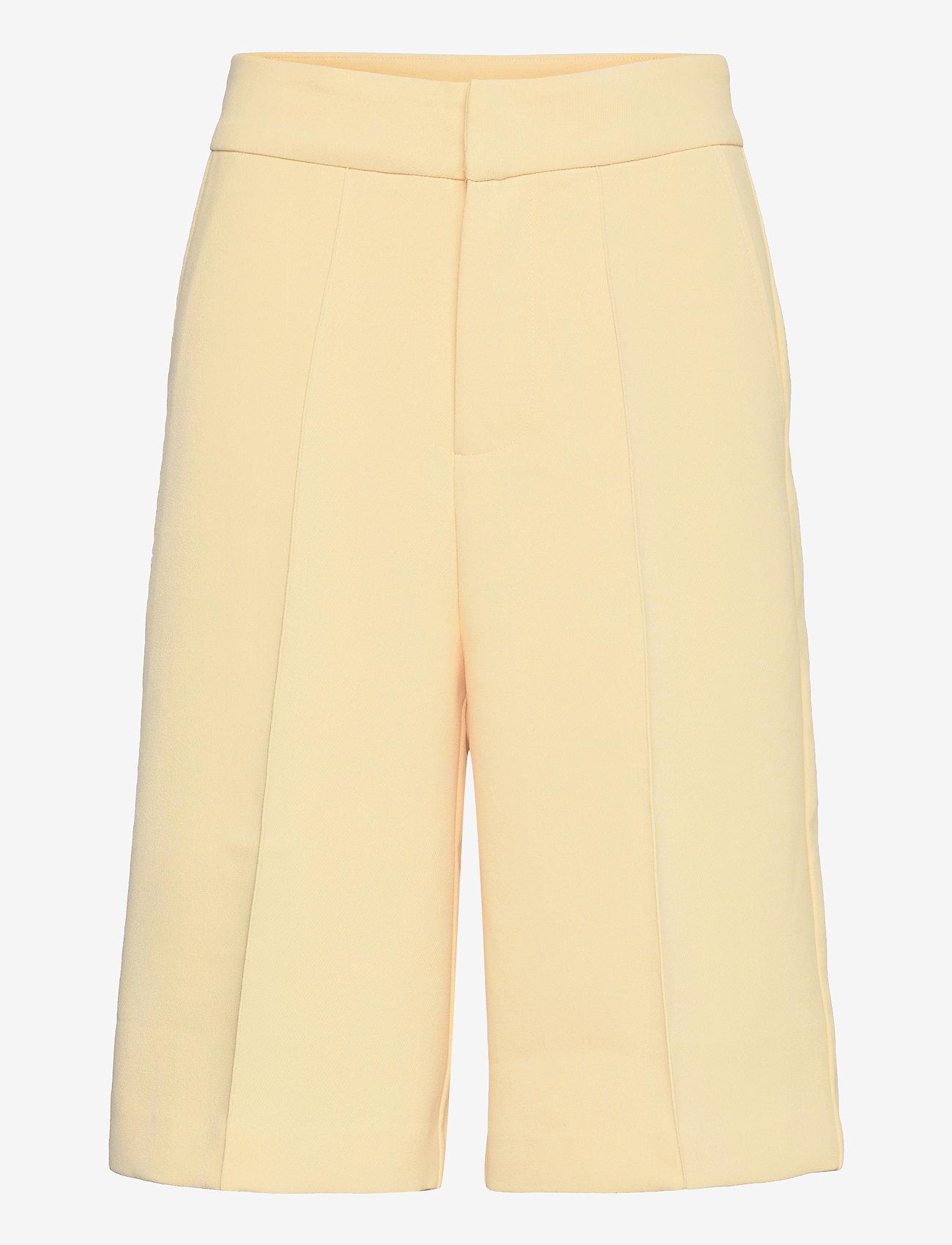 Notes du Nord - Tiffany Shorts - bermudas - soft lemon - 0