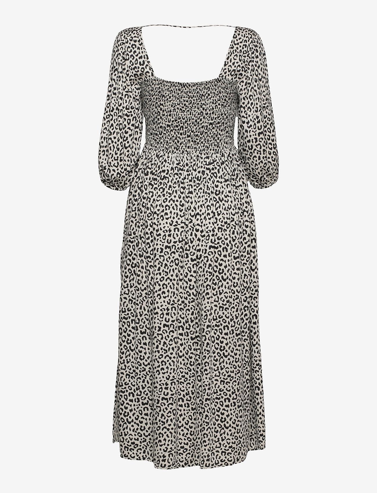 Notes du Nord - Viola Dress - sommerkjoler - leopard - 1