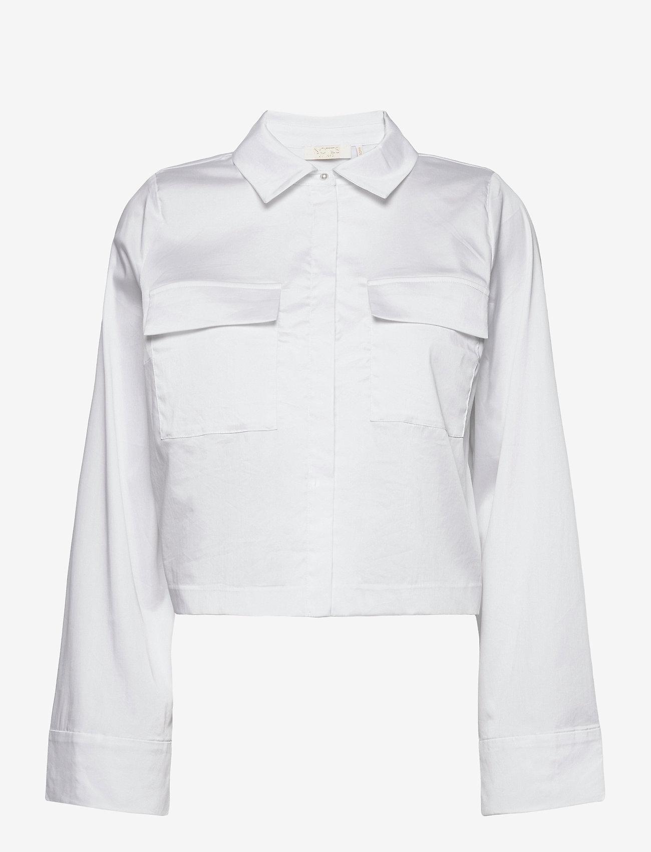 Notes du Nord - Whitney Shirt S - overshirts - white - 0