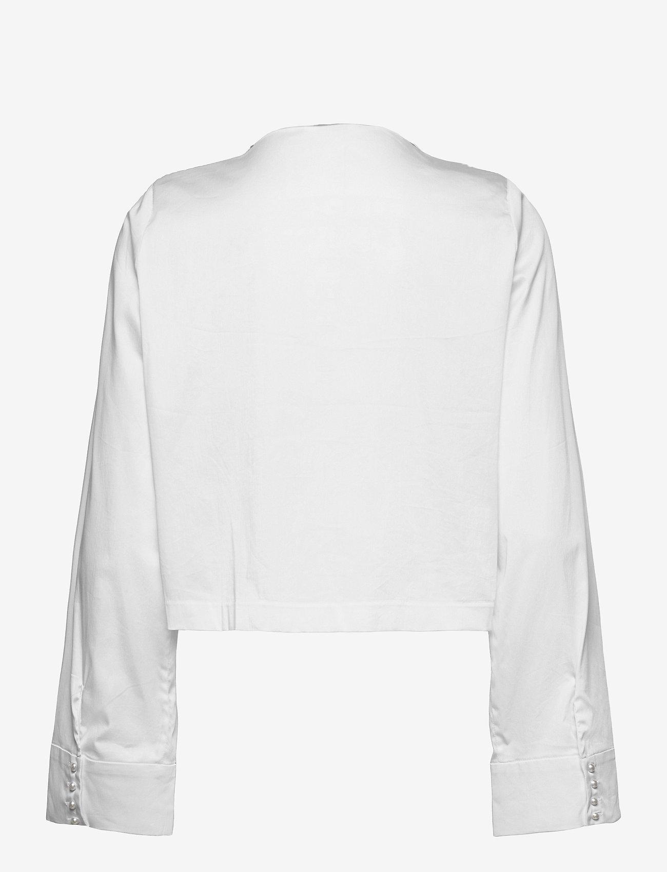 Notes du Nord - Whitney Shirt S - overshirts - white - 1