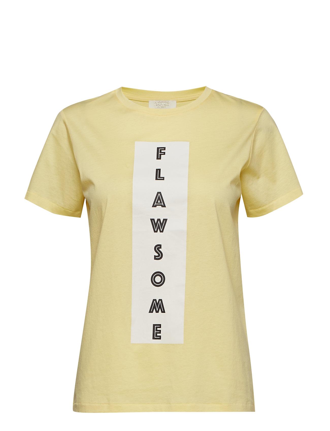 Notes du Nord Kimmie T-Shirt - LEMON DROP