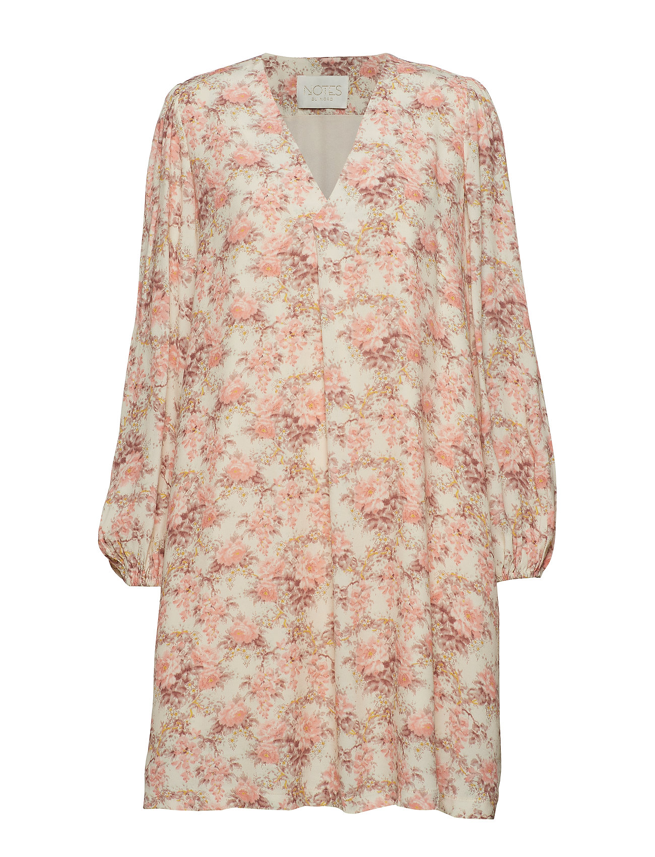 Notes du Nord Lydia Flower Short Dress - ROMANTIC FLOWER