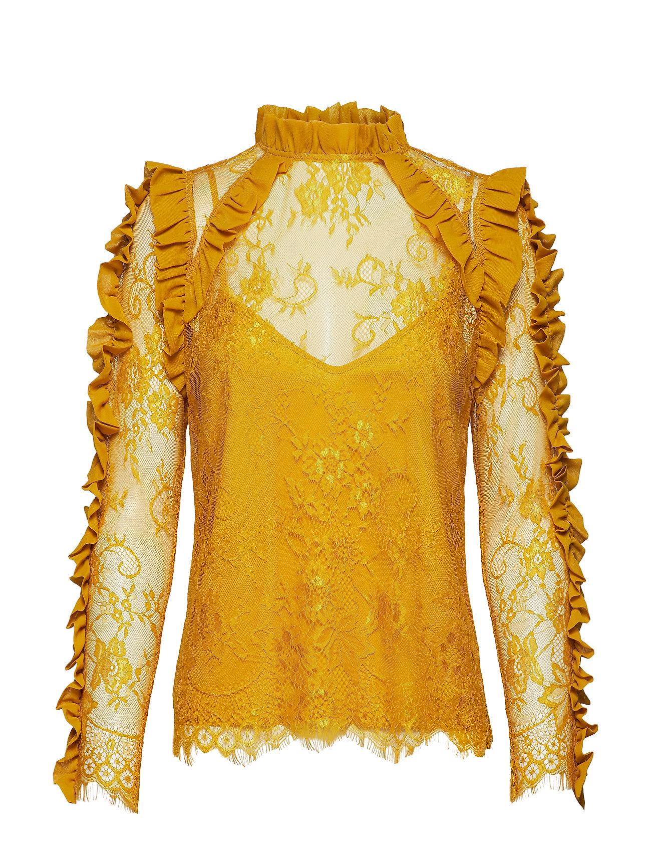 Notes du Nord Leela Blouse - HARVEST GOLD