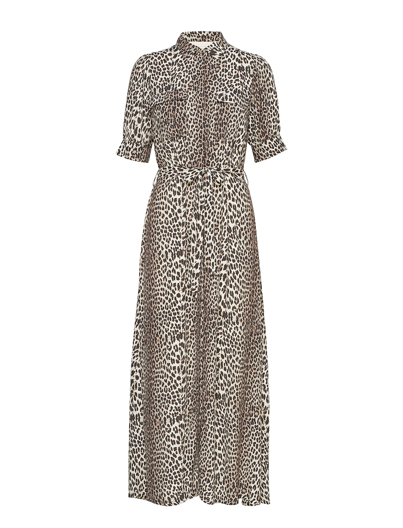 Notes du Nord Lydia Leopard Maxi Dress - LEOPARD