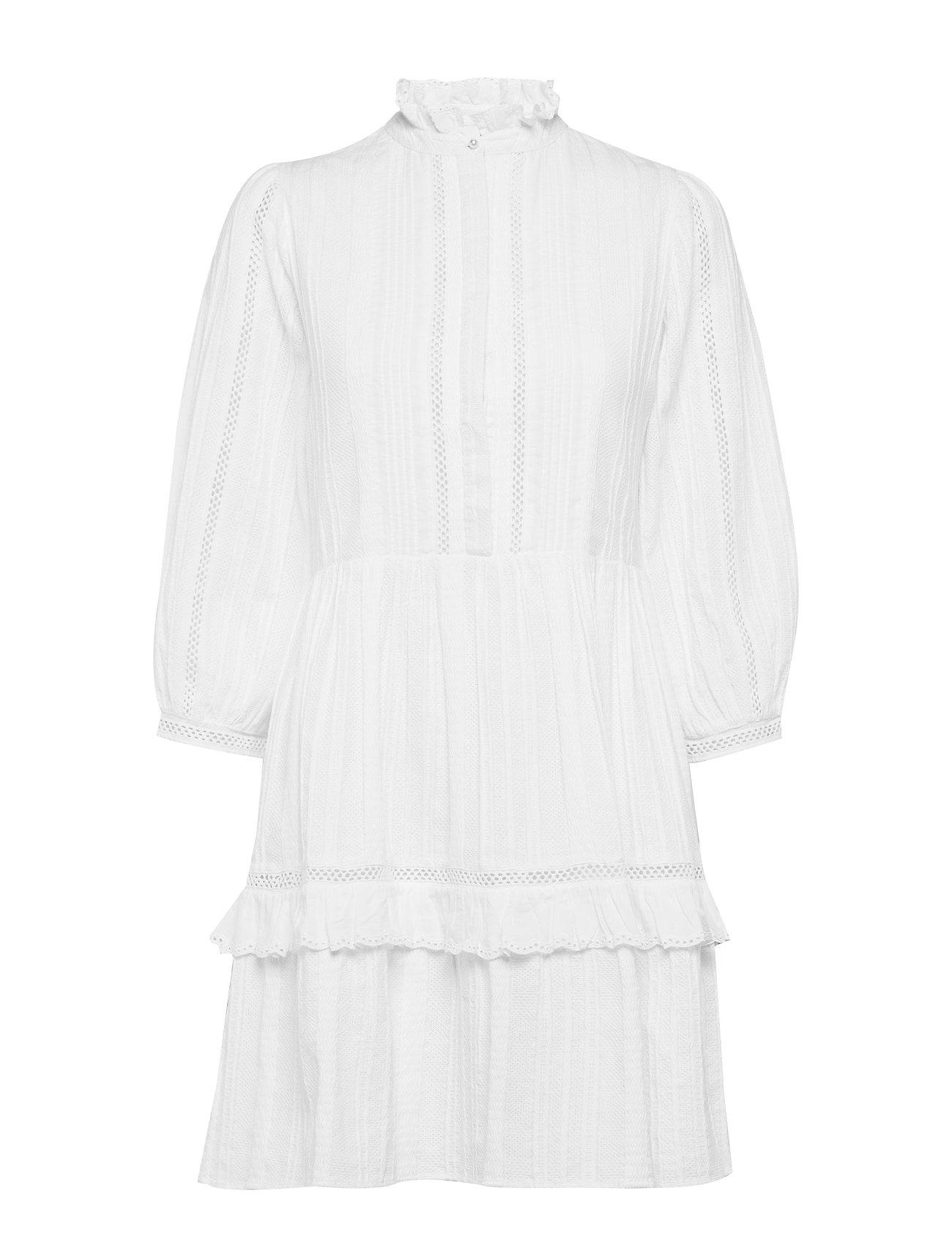 Notes du Nord Lindsey Short Dress - WHITE