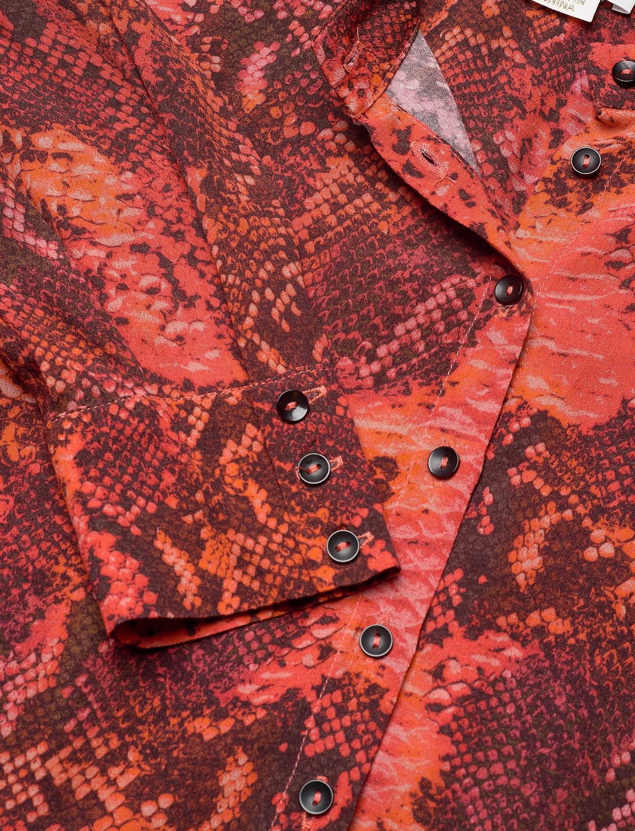 Monroe Dress (Scarlet Snake) (107.50 €) - Notes du Nord H4kNu