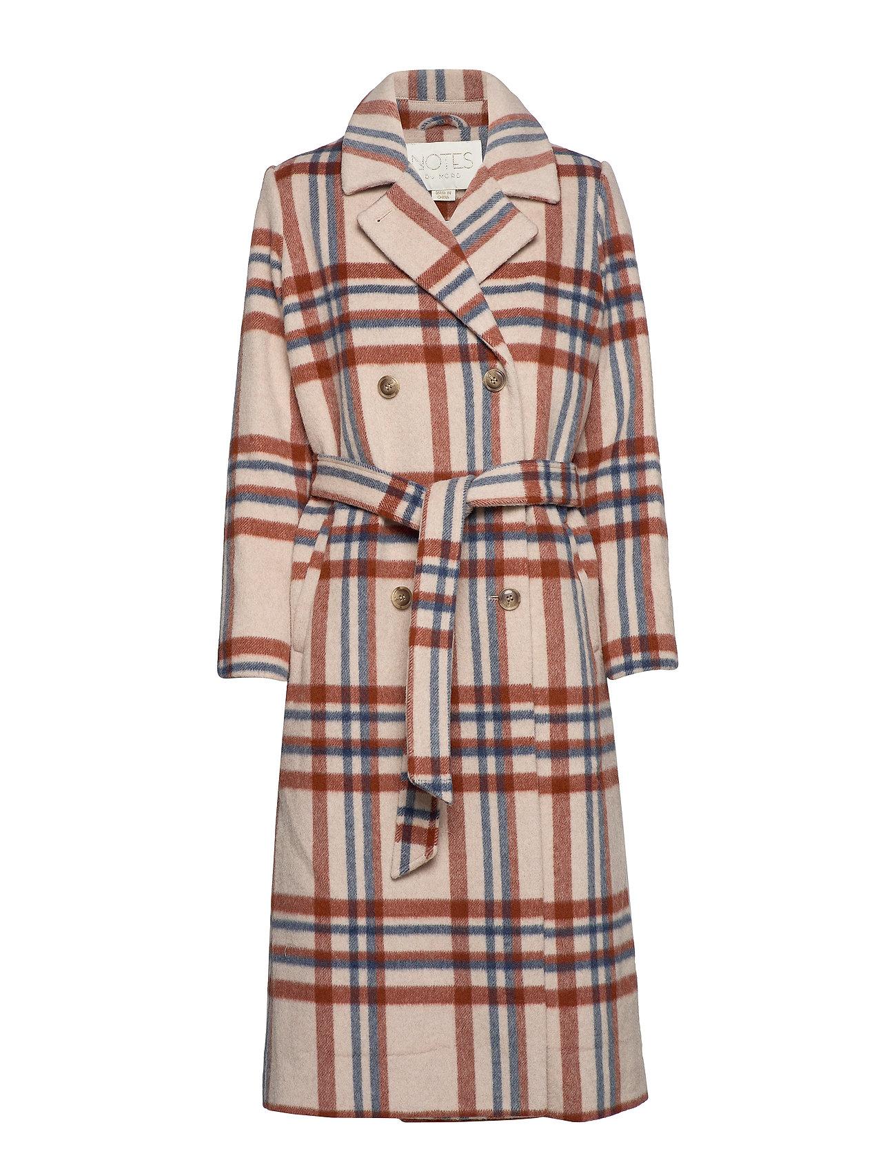 Notes du Nord Megan Wool Coat - CHECKED