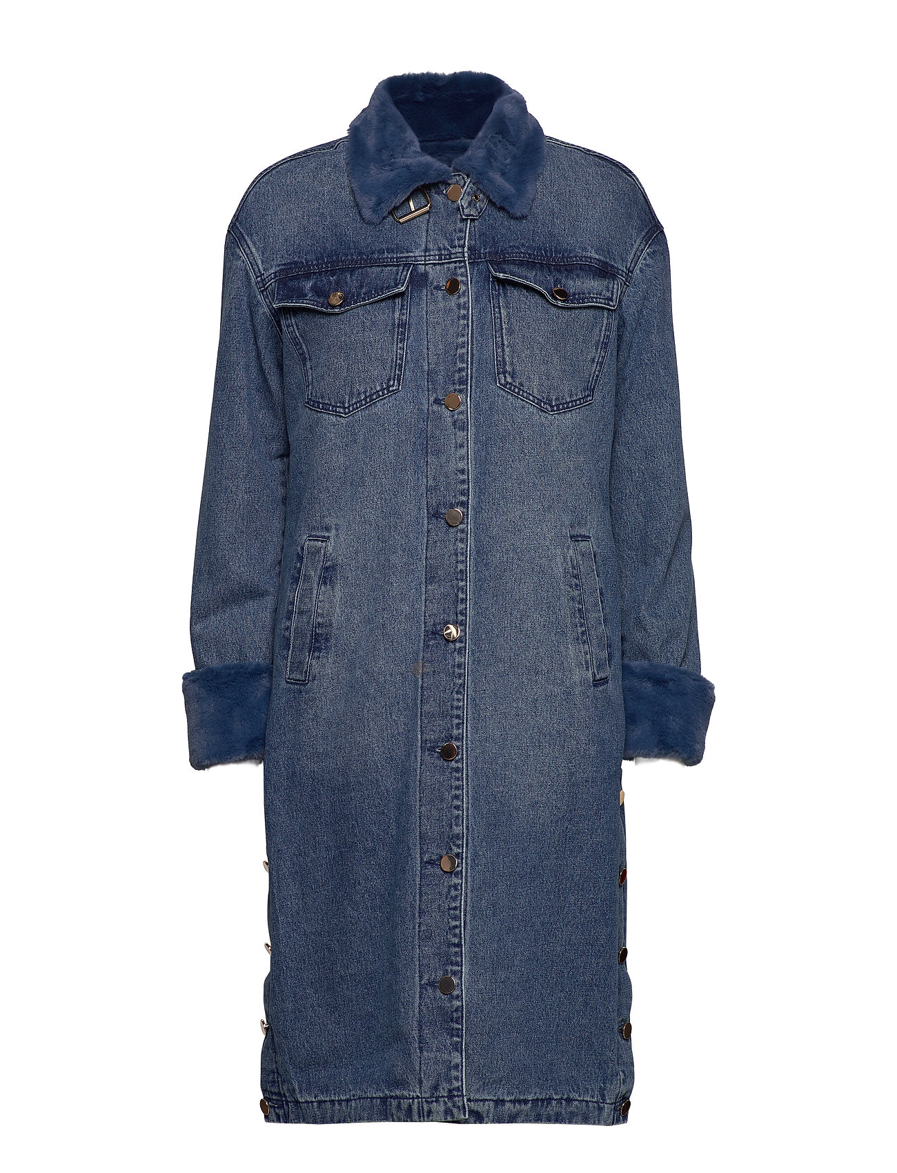 Notes du Nord Malou Coat - BLUE WASH