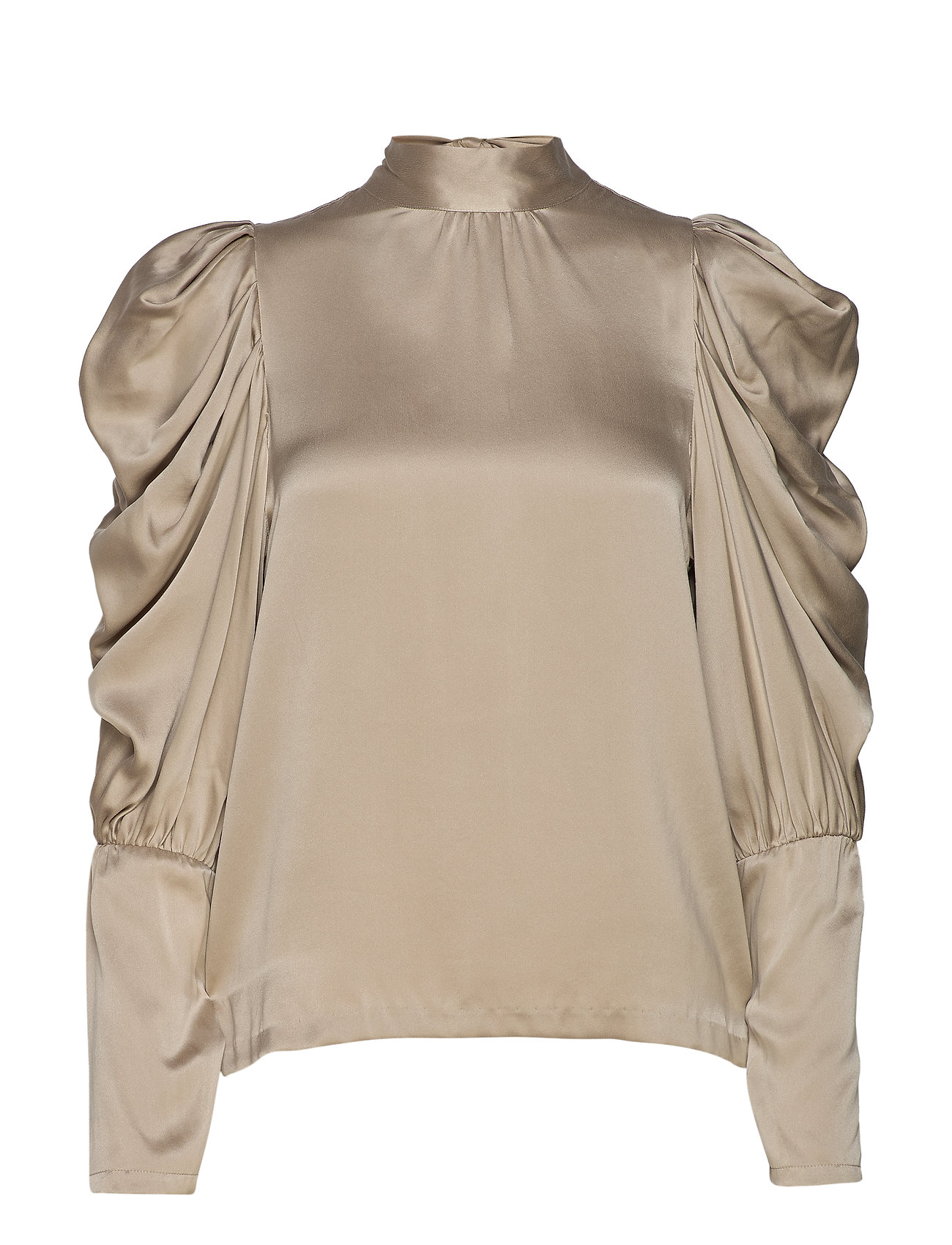 Notes du Nord Missy Silk Blouse - CHAMPAGNE
